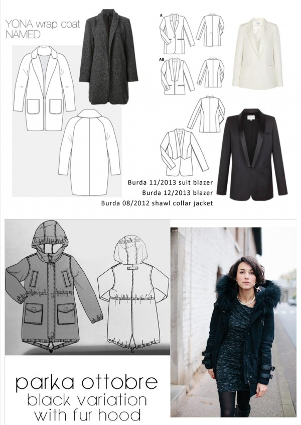 coats patterns - a sewing tale