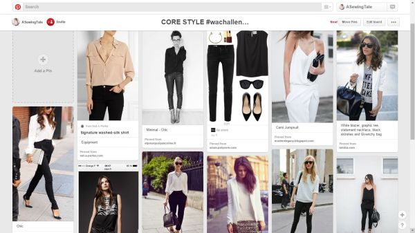 core style - pinterest - a sewing tale