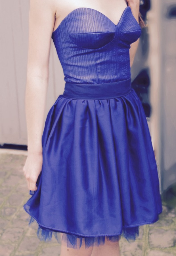 Burda 05/2011 - Little Blue Dress - A Sewing Tale