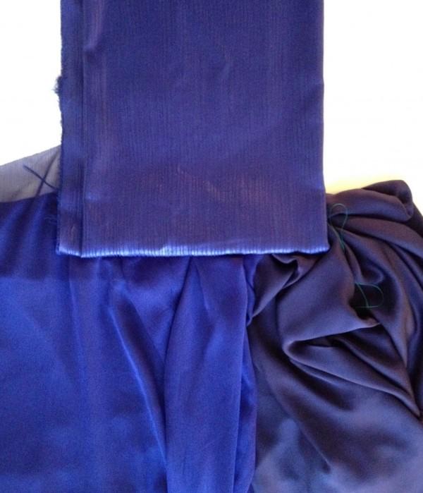 Little Blue Dress fabrics - A Sewing Tale