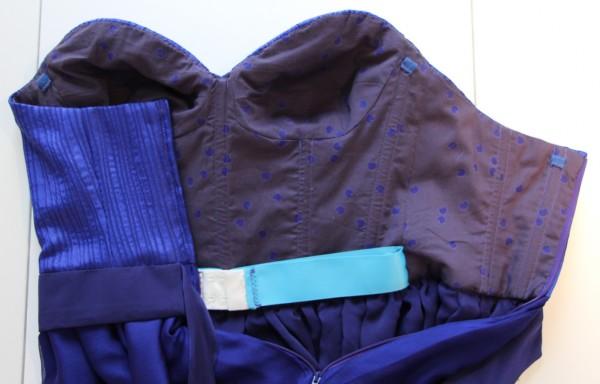 Burda 05/2011 - Little Blue Dress - A Sewing Tale
